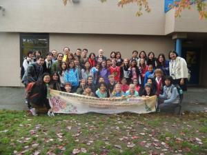 Taiwanese visitors