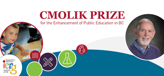2016 Cmolik Prize winner engages students' imaginations